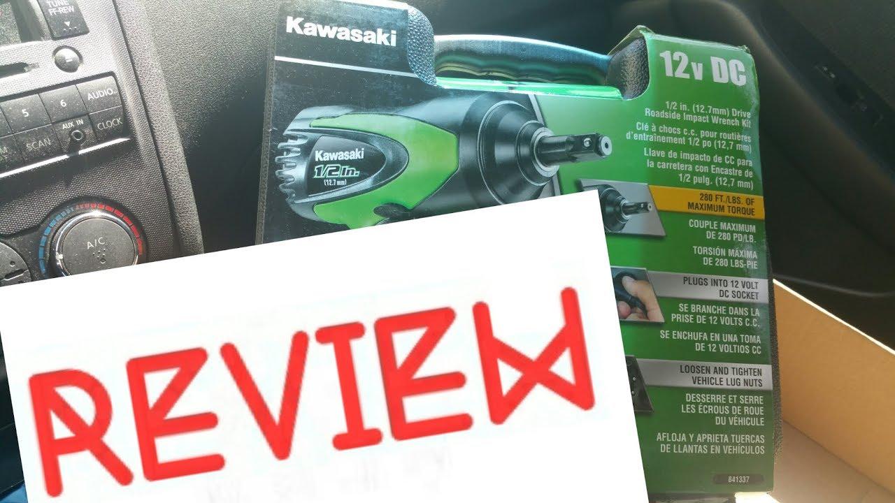 Review Kawasaki 841337 1 2 Inch Impact 12 Volt Wrench
