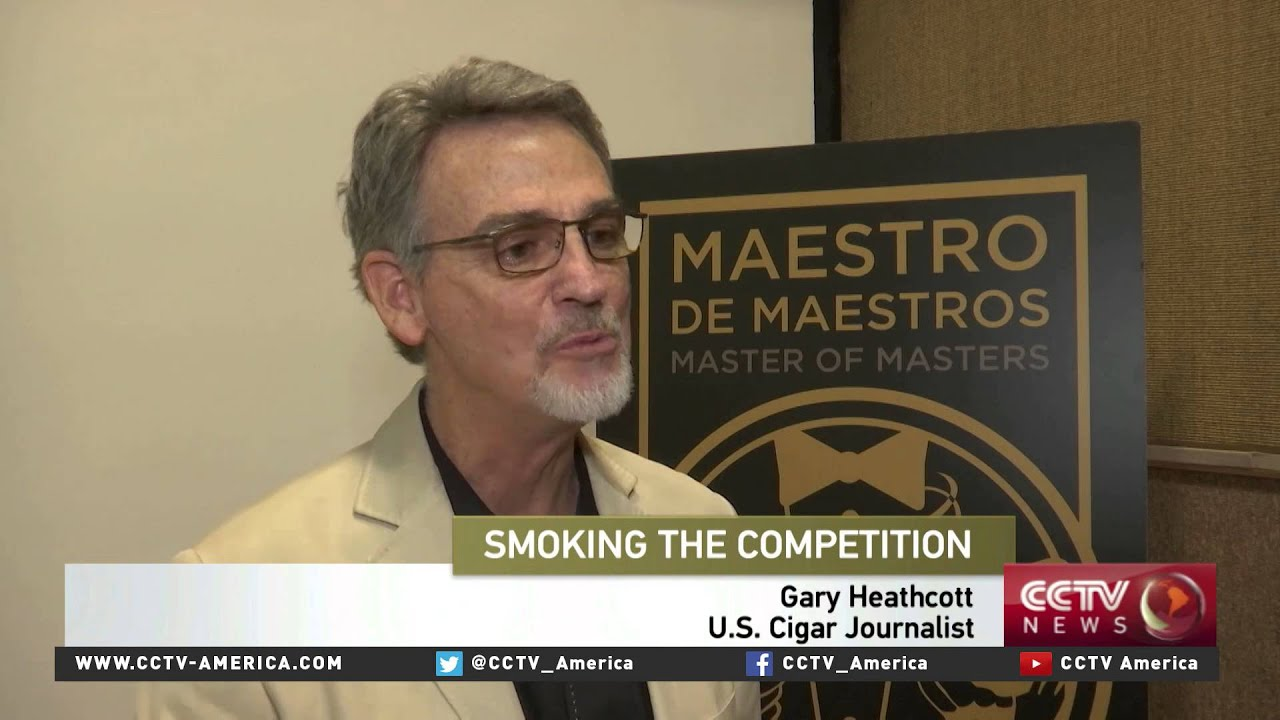 Best cigar sommeliers in the world compete in Havana