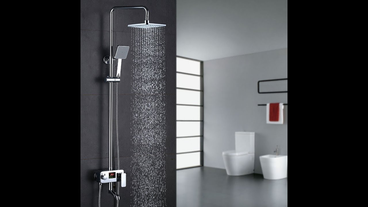 install a shower in the bathroom homelody mjdrs01 install - Duscharmatur Test