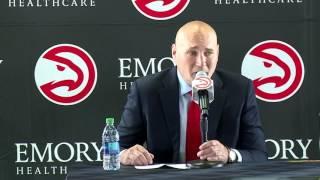 Hawks Formally Introduce New GM Travis Schlenk