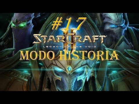StarCraft 2 Legacy of the Void. Gameplay CAMPAÑA/BRUTAL #17 (LA CARGA DEL TEMPLARIO)