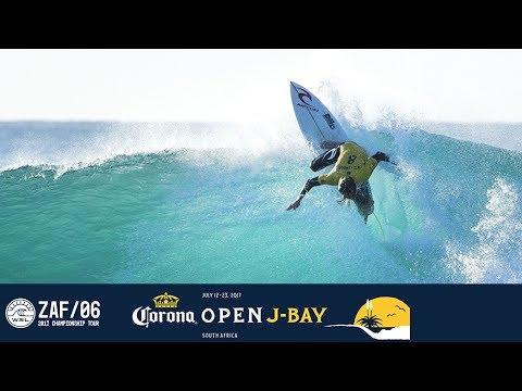 Conner Coffin Vs. Michel Bourez Vs. Matt Wilkinson - Round Four, Heat 4 - Corona Open J-Bay 2017