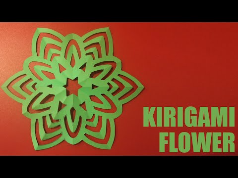 DIY Kirigami Flower