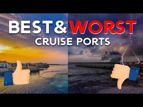 Best & Worst Cruise Ports