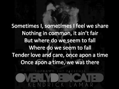 Kendrick Lamar - Opposites Attract (Tomorrow W/O Her) Featuring Javonte + ON-SCREEN LYRICS