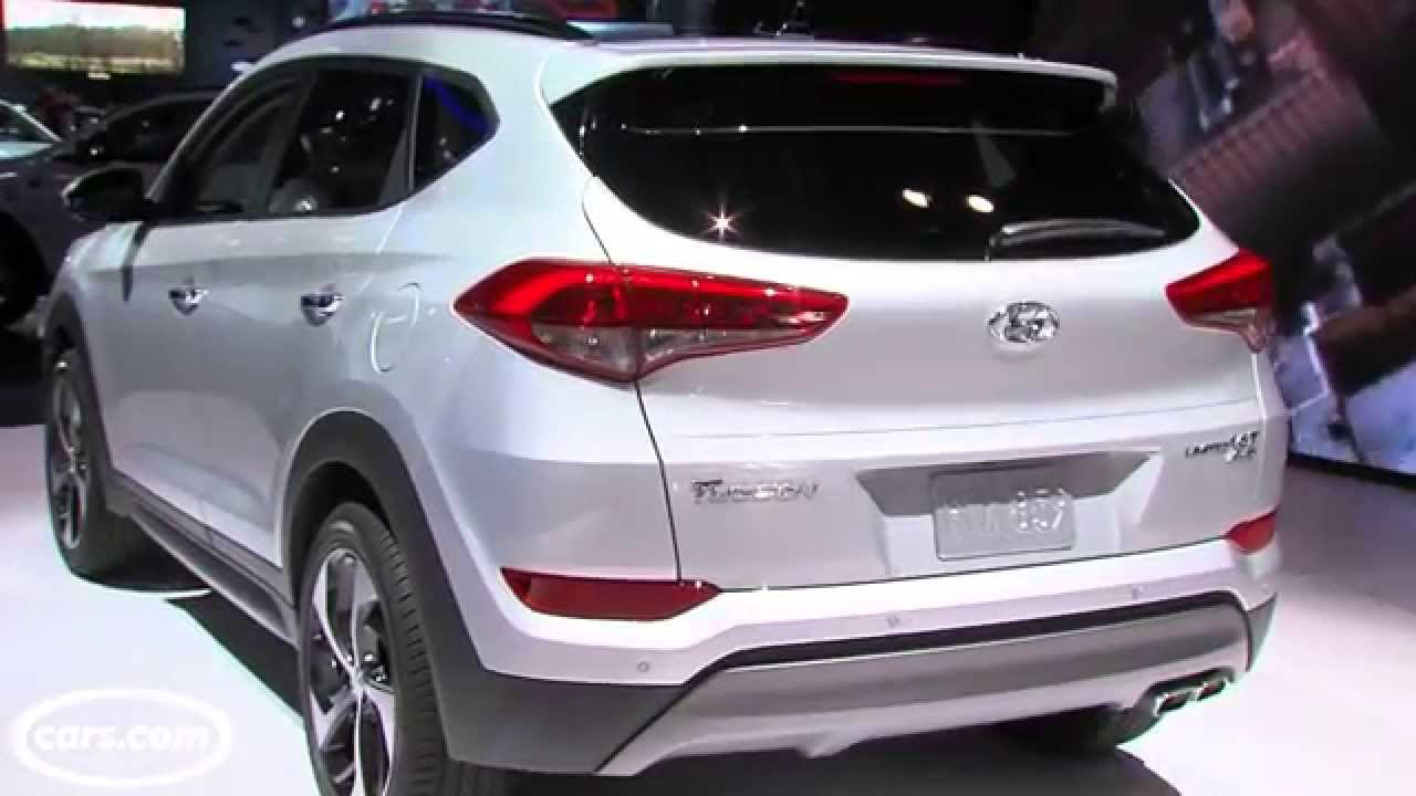 2016 Hyundai Tucson First Look Youtube