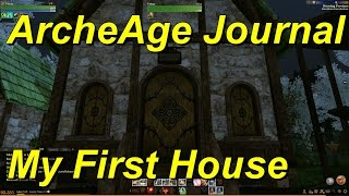 ArcheAge Journal Entry 01 Vechs Gets His First House
