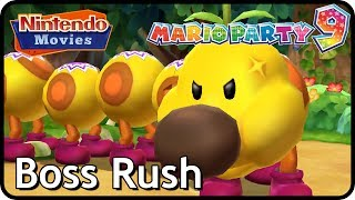 Mario Party 9 - Boss Rush Master Difficulty (All Boss Battles) thumbnail