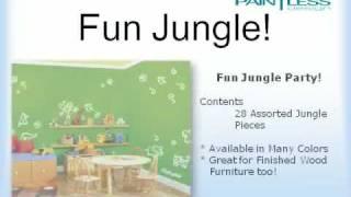Nursery Room Decor Ideas - Nursery Room Wall Decals!