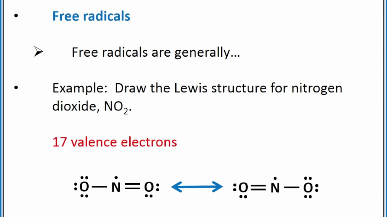 CHEMISTRY 101 - Lewis Structures: Exceptions to the octet ...
