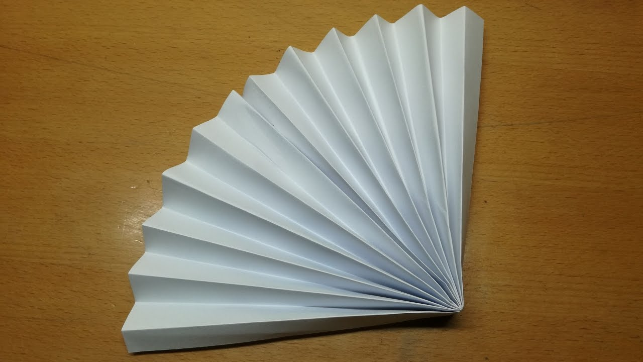 make paper to how fans asian