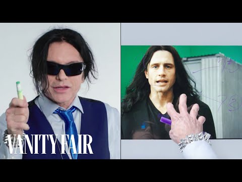 Tommy Wiseau Breaks Down a Scene from 'The Disaster Artist' | Notes on a Scene | Vanity Fair