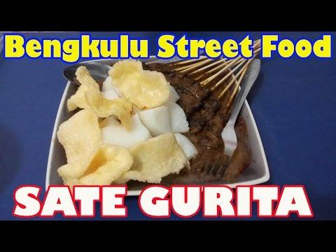 Bengkulu Street Food #6 Sate Gurita (Octopus Satay)