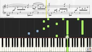 Ave Maria by Charles Gounod - Piano Practice Video
