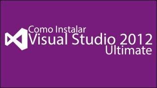 Como Instalar e ativar Visual Studio 2012