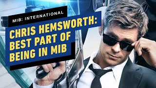 Chris Hemsworth On The Best Part of Being in MIB