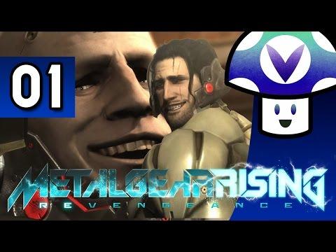 [Vinesauce] Vinny - Metal Gear Rising: Revengeance (part 1)