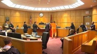 Courtroom drama! Witness attacks murder suspect