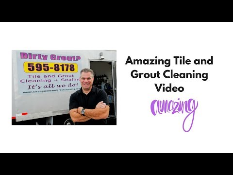 Amazing Tile and Grout Cleaning Video