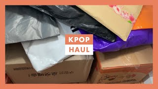 Collective KPOP Haul ☆ Unboxing NCT Merch + More ☆ 25+ Packages (Part 2)