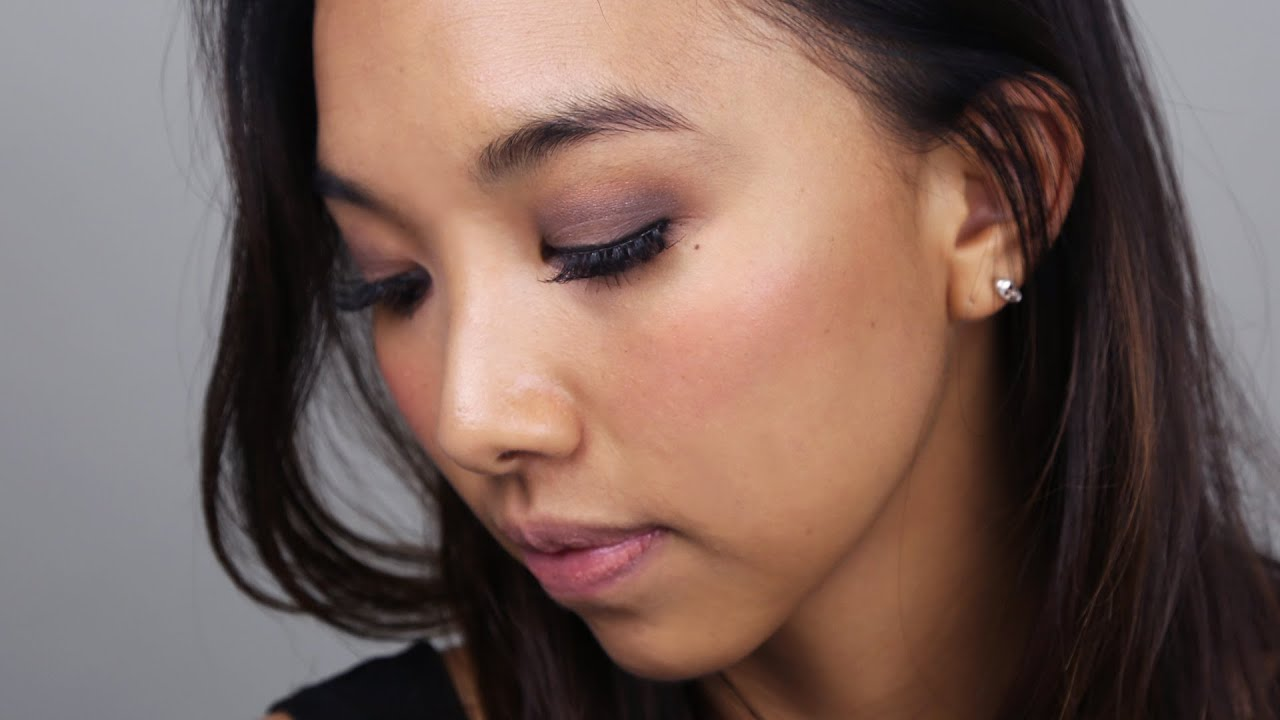 Smokey Eye Makeup For Asian Or Hooded Eyes Youtube