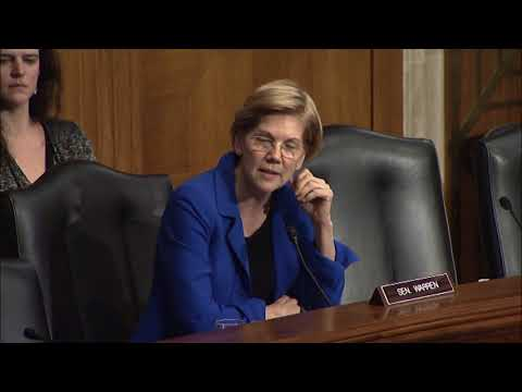 Senator Warren Questions Labor Department Nominee about Health and Safety Laws