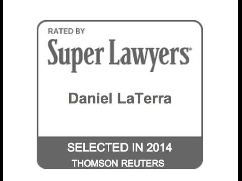 "Daniel LaTerra New Jersey Super Lawyers ""Rising Star"" 2014 www.maggianolaw.com"