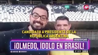 Olmedo, ¿ídolo en Brasil?