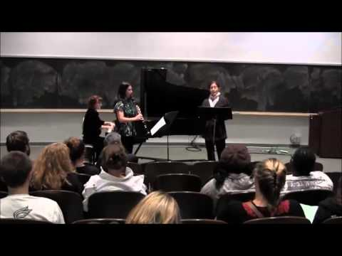 Fitchburg State University Music: Ferrante, Duncan, and Kelley perform