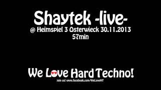 Shaytek -live- @ Heimspiel 3 Osterwieck 30.11.2013