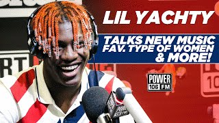 Lil Yachty Talks New Music, First Job, Fav. Type of Women, And More!