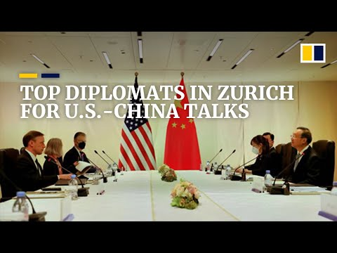 US, Chinese diplomats' meeting in Zurich paves way for continued talks