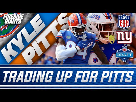 Should the New York Giants Entertain the Idea of Trading up for Kyle Pitts?