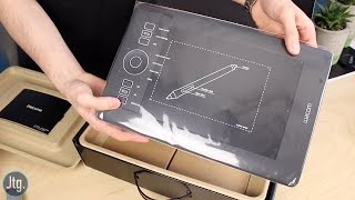 Wacom Intuous Pro Small Tablet Unboxing & First Thoughts
