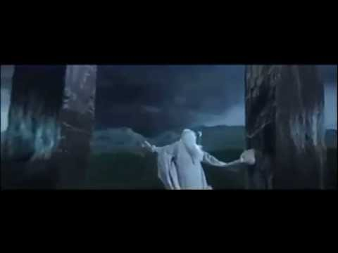 Saruman casting Weather Spell -Definitely Not HD