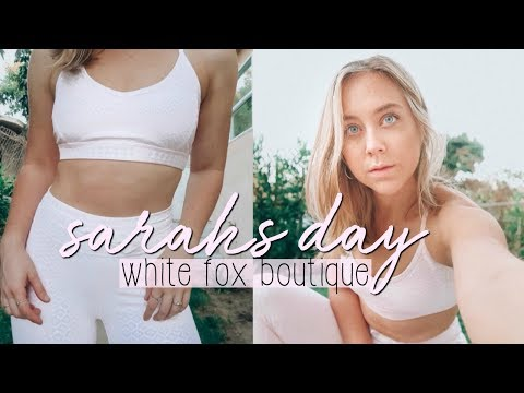 Sarah&39;s Day x White Fox Boutique REVIEW