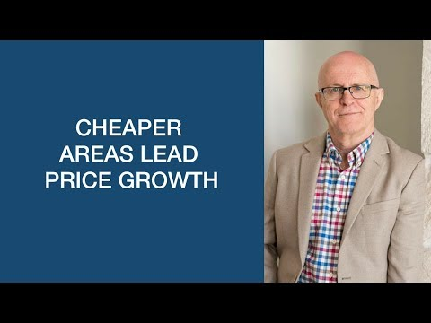 Cheaper areas lead price growth