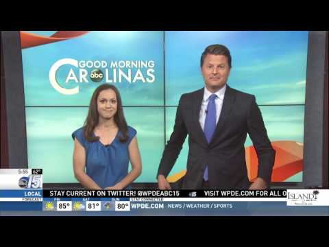 Amanda Live with Jr. Olympics bound gymnast - Good Morning Carolinas - WPDE ABC 15