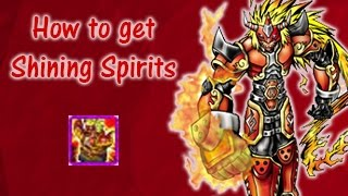 Getting the Shining Spirit of Fire H | How to get Shining Spirits | Digimon Masters Online