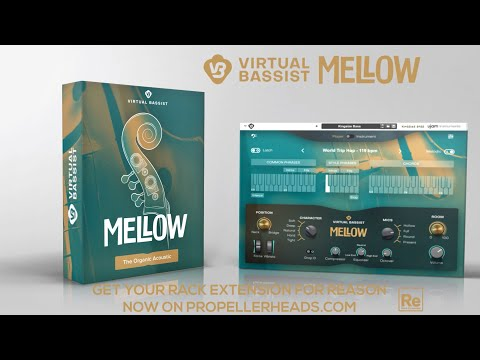 UJAM Instruments presents: Virtual Bassist MELLOW as Rack Extension