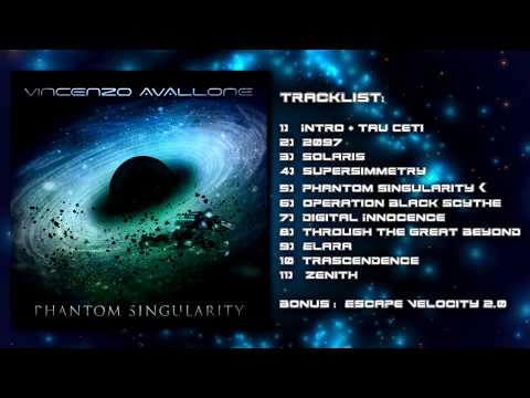 Vincenzo Avallone - Phantom Singularity [FULL ALBUM STREAM] - Progressive Metal 2018