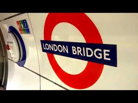 Underground & Overground - London Bridge National & Tube Line Train Stations