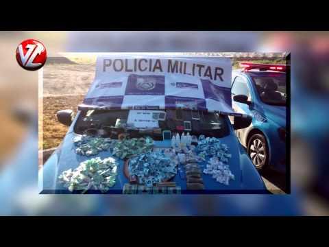 Quatorze detidos em Volta Redonda com drogas após