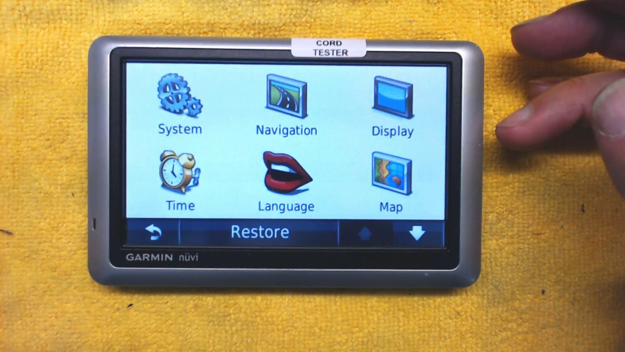 tutorial and operation instructions for garmin nuvi 1300 1350 1450 rh youtube com Garmin Nuvi 1350 SD Card Reset Garmin Nuvi 1350
