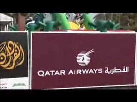 Qatar Airways Sponsorship at Qatar Masters Golf Event 2007