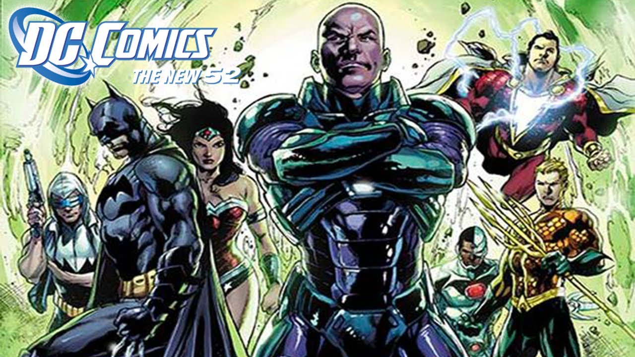 Lex Luthor Joins Justice League!!! New 52 (Justice League ... New 52 Joker Injustice