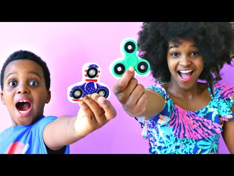 Thumbnail: 1000 MPH FIDGET SPINNER CRAZY EXPERIMENT! - Shiloh and Shasha - Onyx Kids