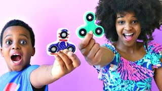 1000 MPH FIDGET SPINNER CRAZY EXPERIMENT! - Shiloh and Shasha - Onyx Kids
