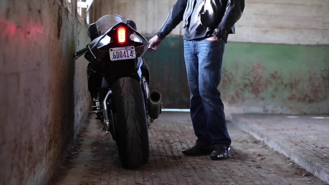 Motobox Slimline Led Tail Light For The Yamaha R6 And R1