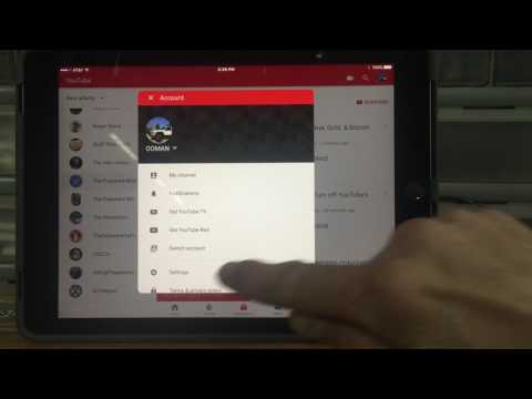 Turn Off Restricted Mode On YouTube Tablet/Phone App